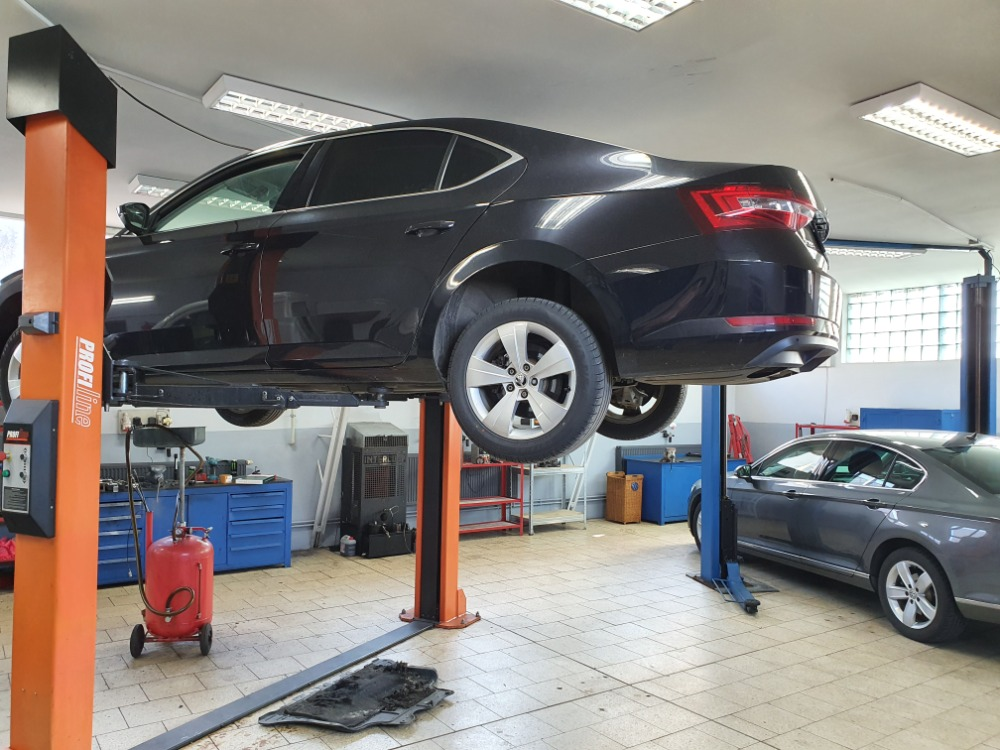 Oprava auta v Autoservis Ostrava